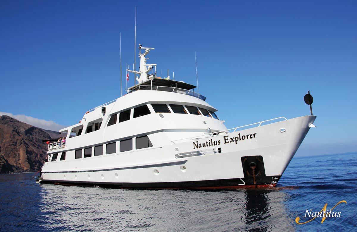 Exterior of Nautilus Explorer