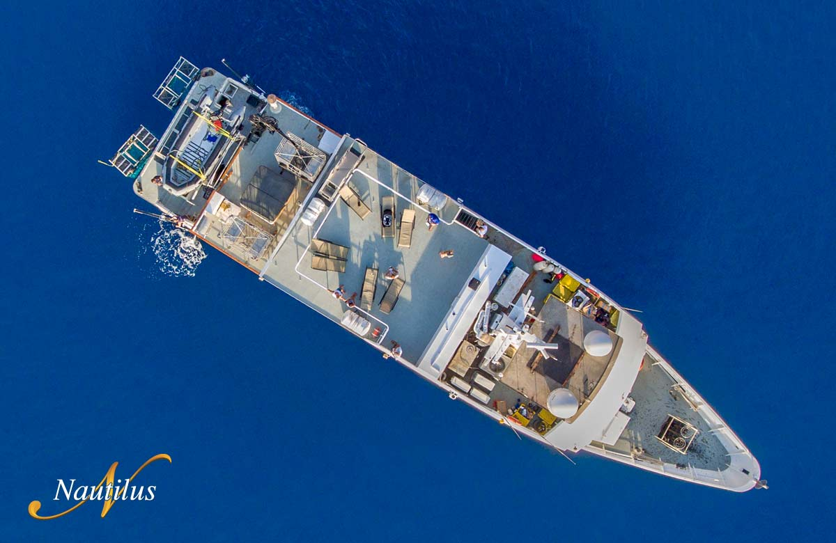 Birds eye view of Nautilus Explorer