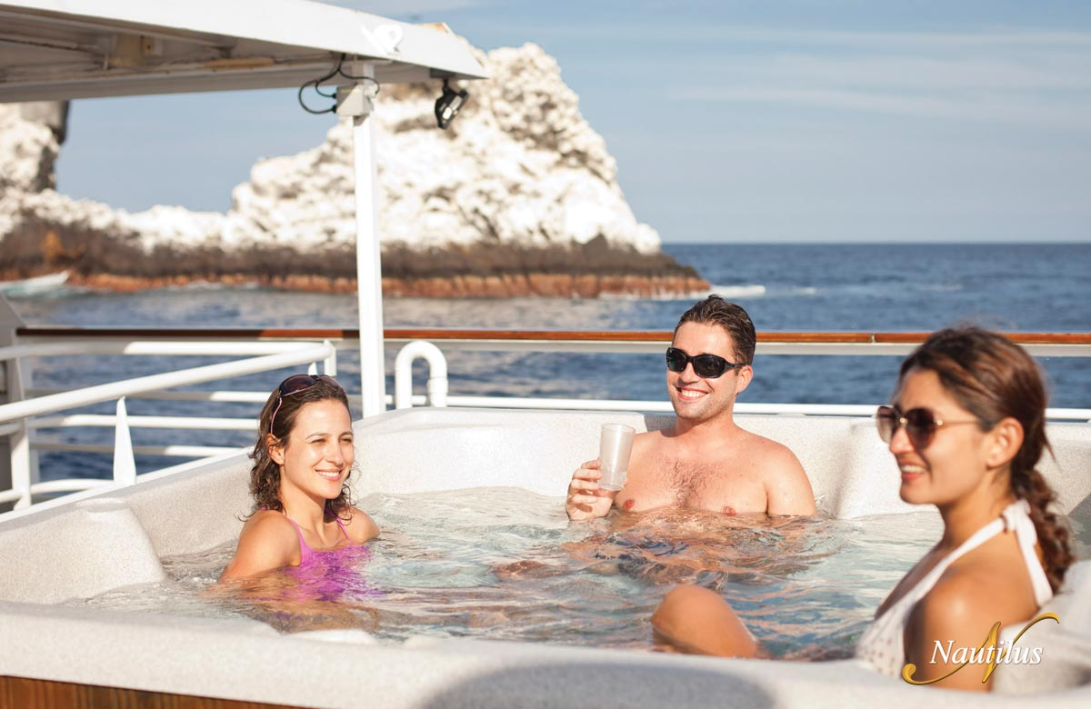 Hot Tub on the Nautilus Explorer