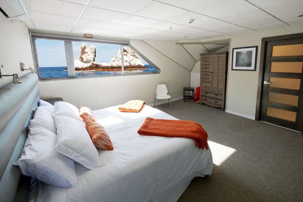 Luxurious and spacious premium suite on the Nautilus Belle Amie