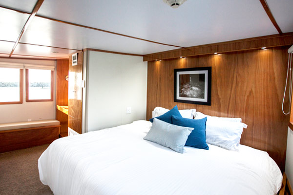 Luxurious premium suite on the Nautilus Under Sea