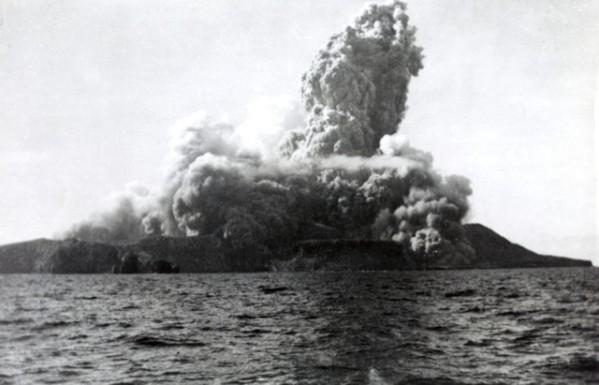 San benedicto island exploding