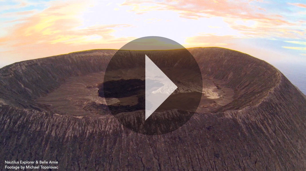 san benedicto crater
