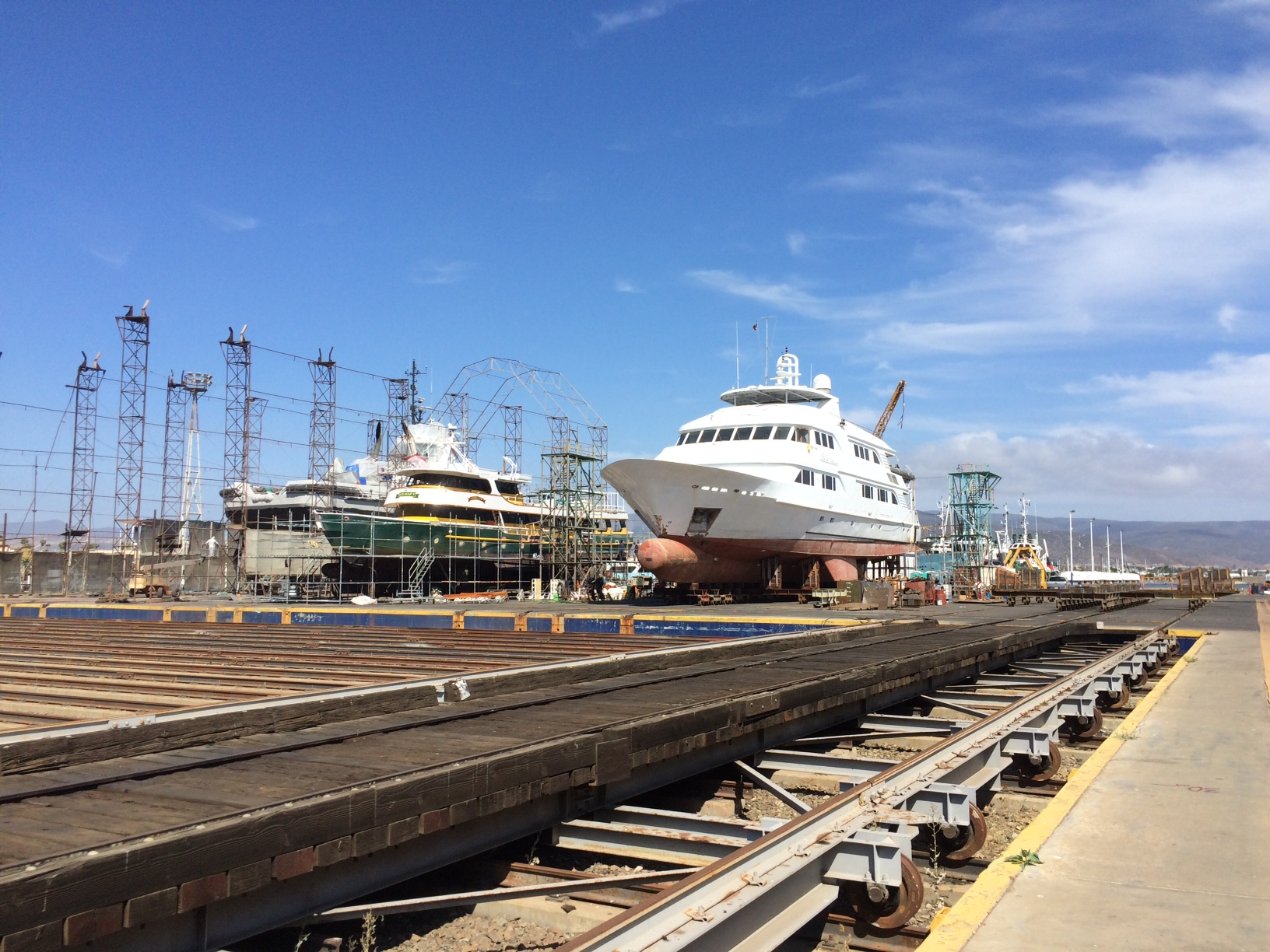 The Nautilus Belle Amie at Sandiego for Refit!