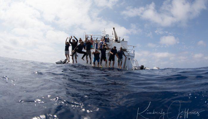 The Nautilus Undersea crew jumps under sea!