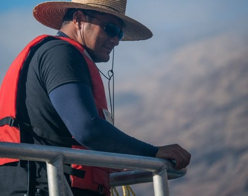 stoic nautilus crew overlooks the waters of guadalupe