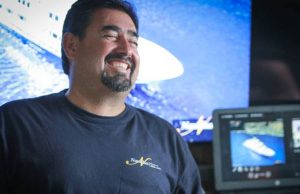 Divemaster Pedro is all smiles as he welcomes guests onboard