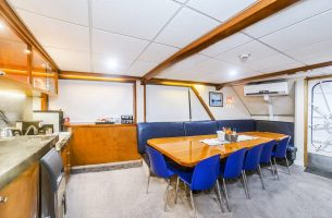 The Nautilus Explorer offers a large dining room and large food service area
