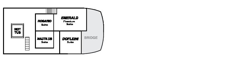 Plan d'étage du pont de la timonerie Explorer