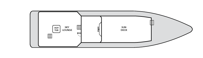 Nautilus Gallant Lady Upper Deck Floor Plan